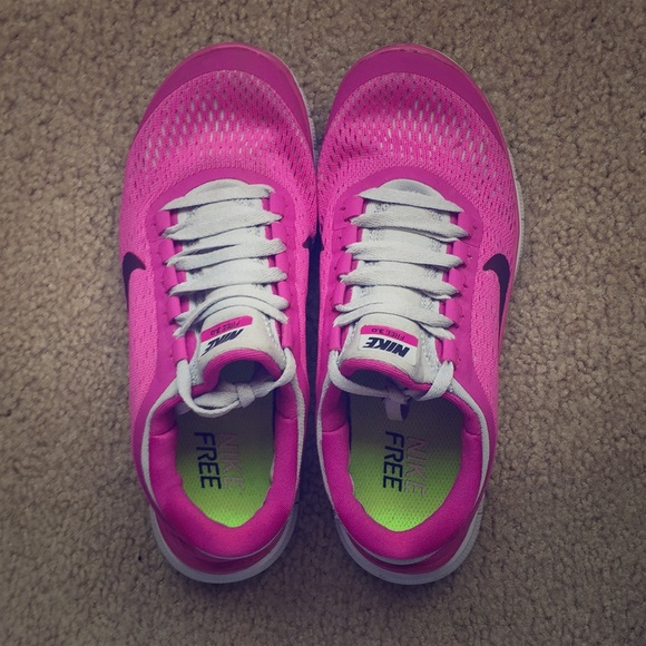 new concept ace03 a82d2 Nike free 3.0 sneakers in pink/grey combo